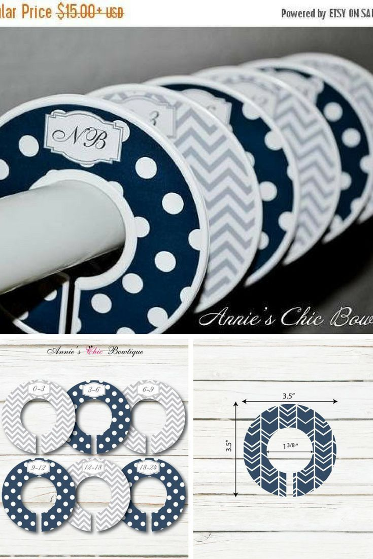 how to make baby clothes dividers
