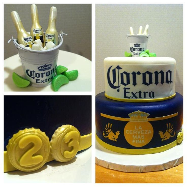 You have to see Corona Extra Beer Lover Cake by Brendas Goodies!