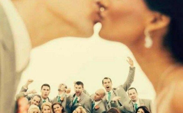 Lustige Hochzeitsbilder Bildergalerie spezialle Effekte