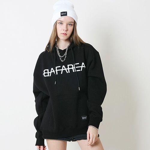 [BAF] BAF_AREA HOODIE (BLACK)