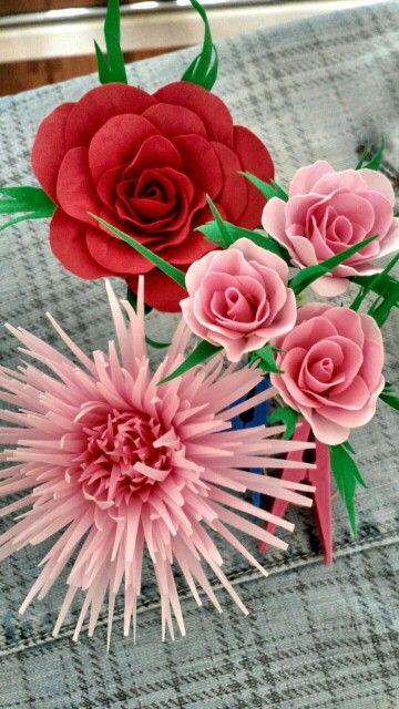Мои первые фом цветы)