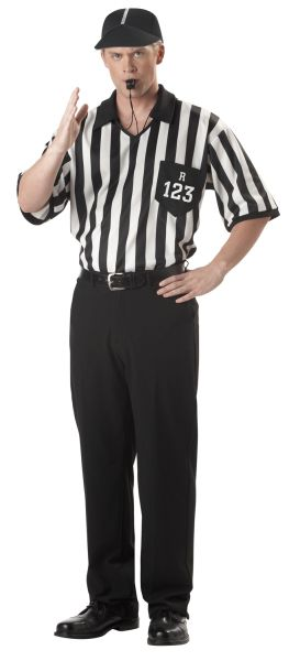 Buy Adults Referee Fancy Dress Sports Costume. Fast despatch on Sports Fancy Dress, Football Costumes & Referee Costumes with the best online prices.