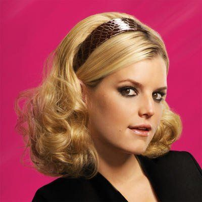 Hairdo By Ken Paves & Jessica Simpson Mid Length Headband R830 by Jessica Simpson. $59.00. Ken Paves and Jessica Simpson's Hairdo mid-length headband extensions. Featuring 100% Tru2Life polyester-based fabric that can be heat-styled and comes with two faux alligator headbands. Add more bounce and volume to your air with this fun hair accessory.  Heat friendly Can be styled up to 160F  Contains: 1 x hair extension 2 x faux alligator headbands in black and brown