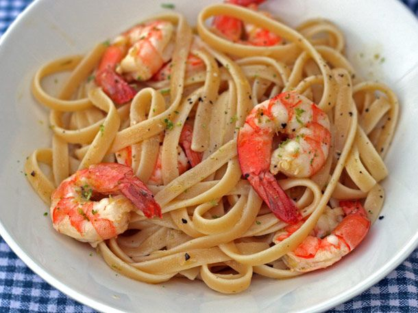 Need to make: Linguine with Citrus-Roasted Shrimp..thinking more of a ...