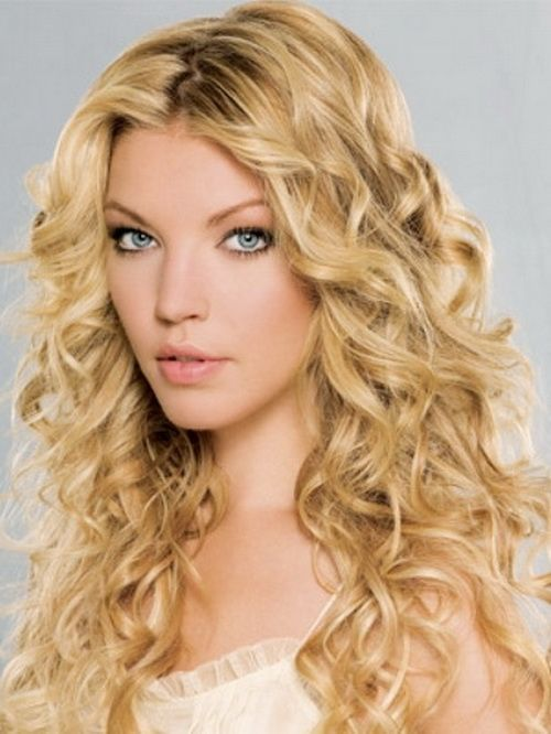 Curly Hairstyles For Long Hair For Wedding : 951 best curly hairstyles images on pinterest