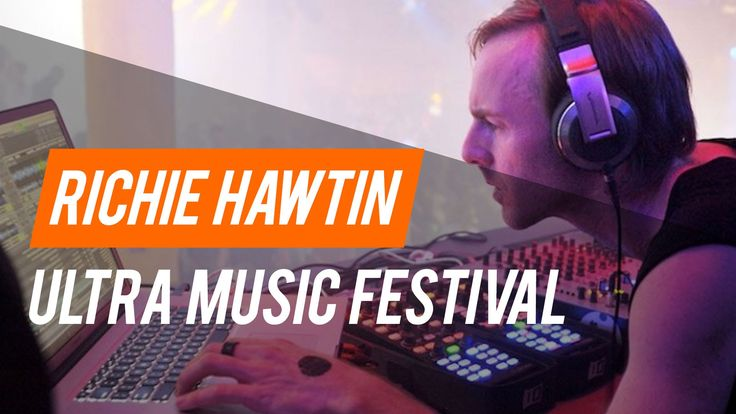 Richie Hawtin Ultra Music Festival 2016 Miami - Carl Cox and Friends Stage