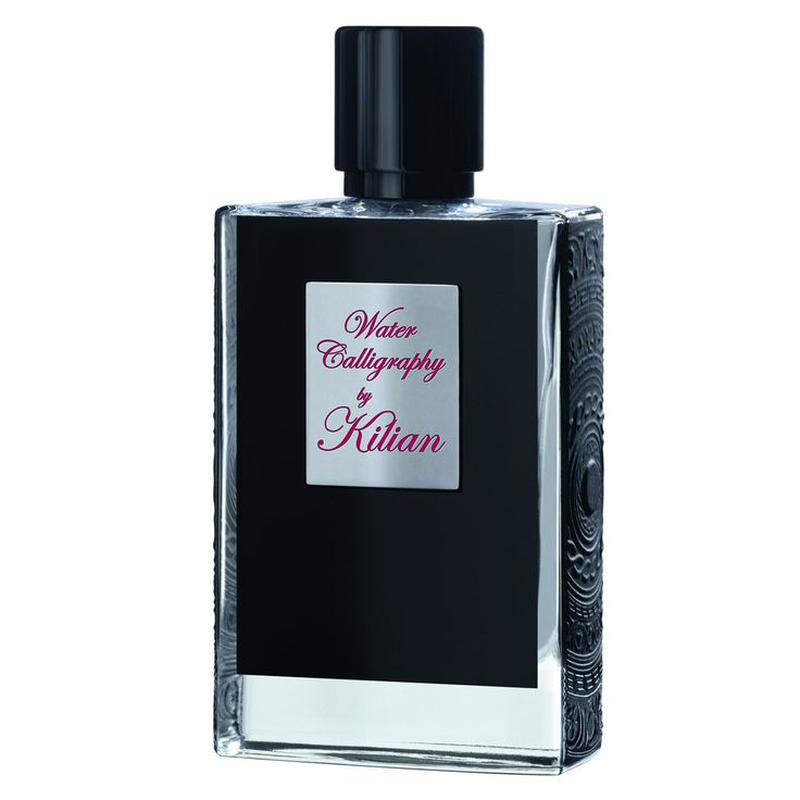 Kilian Water Calligraphy Refillable Spray/1.7 oz. By Kilian Hennessy and Calice Becker. Floral & citrus notes. Comes in a black laquered wood box.