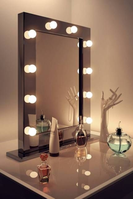 best 25 mirror with lights ideas on pinterest mirror vanity hollywood mirror and lighted mirror. Black Bedroom Furniture Sets. Home Design Ideas