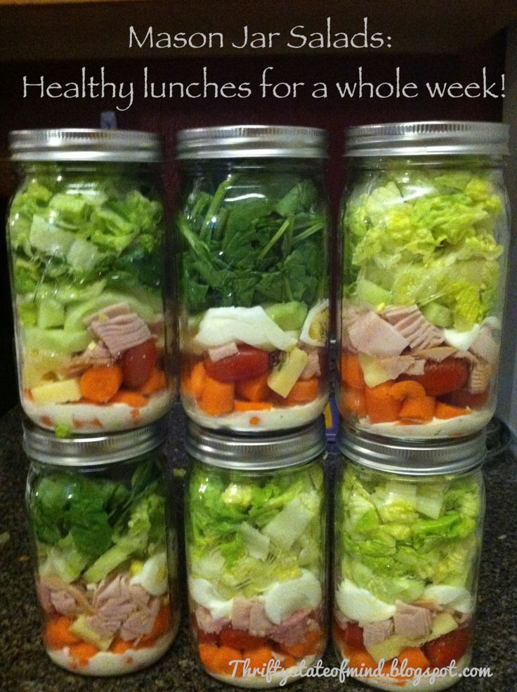 How to: Mason Jar Salads.