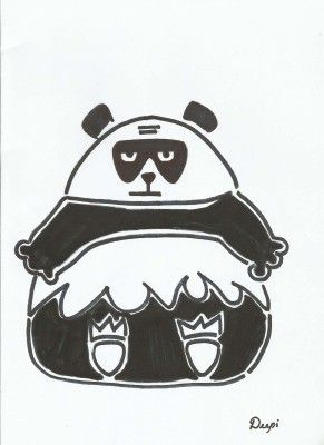 The Hungry Panda.