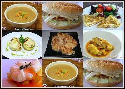 Noveno menú semanal para cenas ~ Comer especial