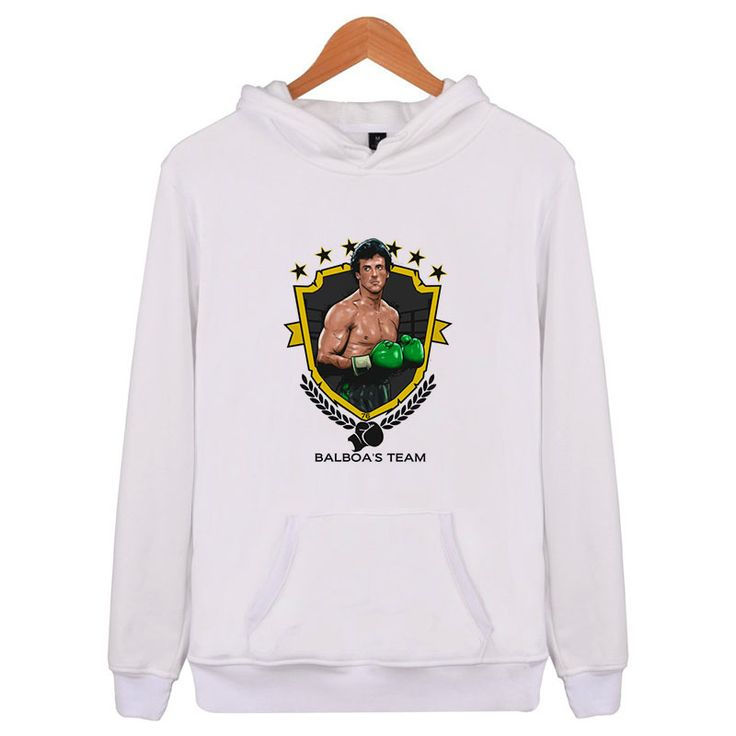rocky balboa 2018 Hoodies and Sweatshirts Spring Autumn Hip Hop Mens Hoody Hoodi…