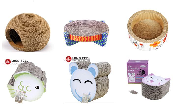 manufacture corrugated cat lounge, cat scratcher, cat bed, cat house, cat toys etc | Heidi Frisinger | LinkedIn