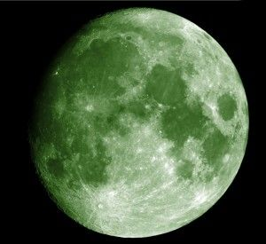 No, there won't be a green moon on April 20, 2016 ... or on May 29.  Some possible origins of this latest urban legend.