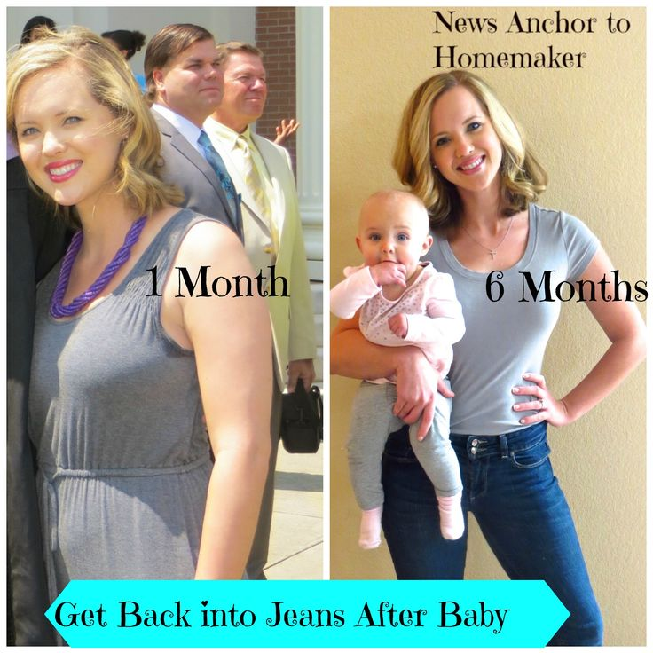 Getting Back into Jeans After Baby, Postpartum Workout Plan