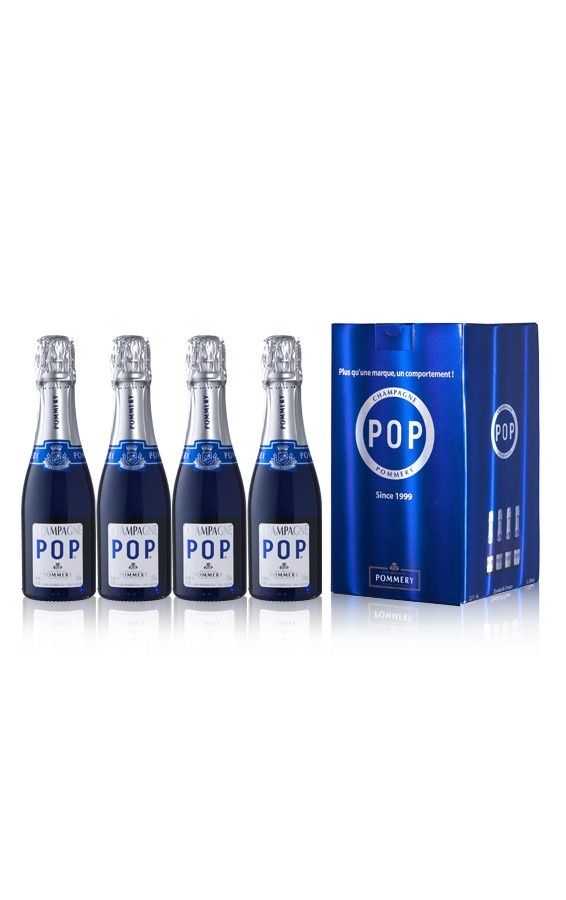 Champagne Pommery Coffret 4 Pop 20cl