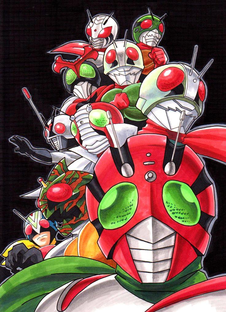 Igadevil's Kamen Rider tumblr: Photo