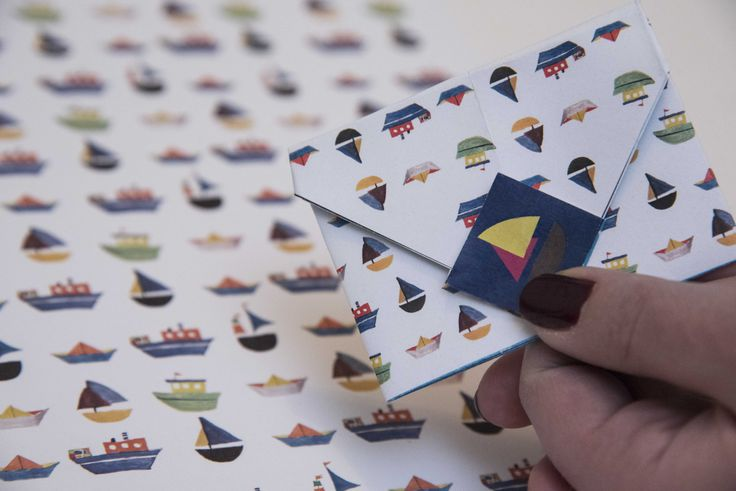 origami envelope for scrapbook lovers