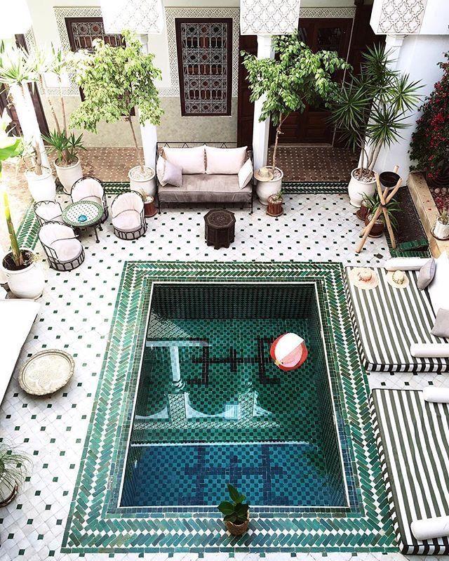 Moroccan Pool.