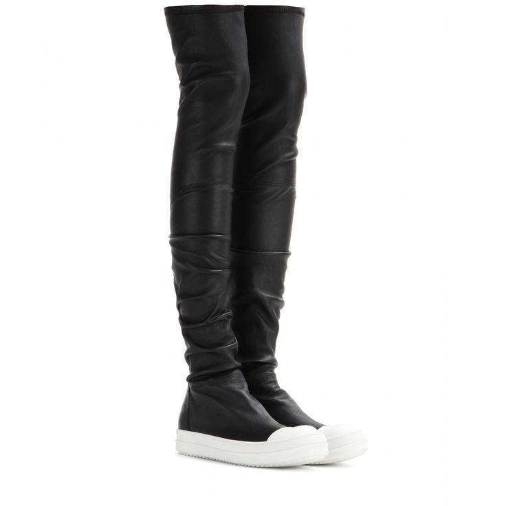 ber ideen zu overknee stiefel leder auf pinterest winterstiefel schwarze stiefel und. Black Bedroom Furniture Sets. Home Design Ideas