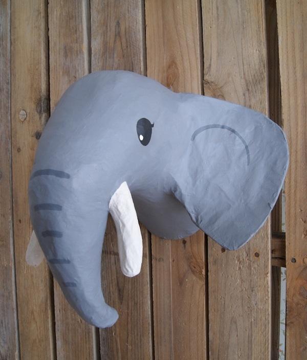 Elephant head by la factor a pl stica mmm pinterest - La factoria plastica ...