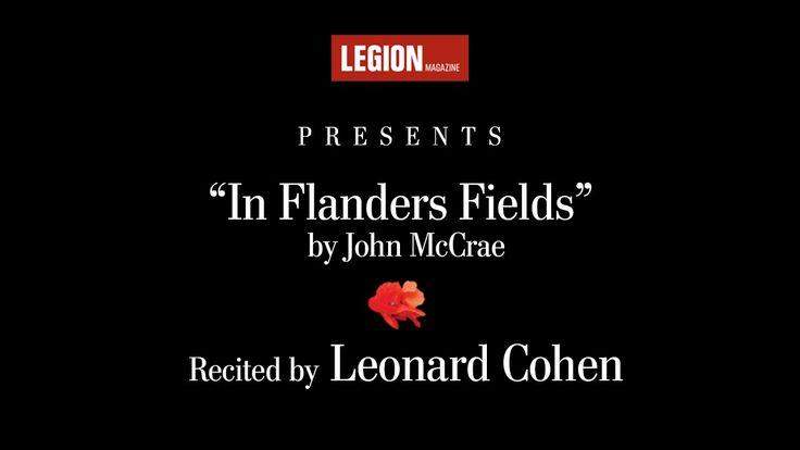 the despondency of war in john mccraes in flanders field Ottawa museum claims famed war poet john mccrae was gay  mccrae wrote  in flanders fields — the most widely published english-language   documentary accounts confirm mccrae was despondent over the death of.