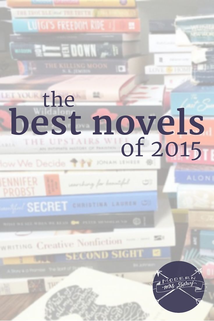 2015 Was A Great Year For Novels Here Are Some Of My Favorite Fiction Books