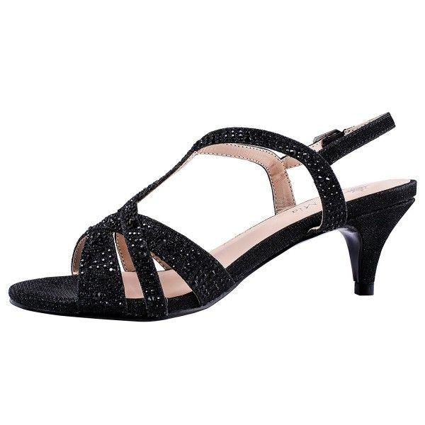 Women's Low Heel Dress Wedding Sandals