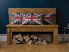 Indigo Furniture - Plank Pew Bench