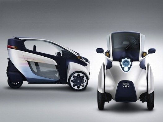 Self-Leaning Toyota i-Road Concept Debuts At 2013 Geneva Show