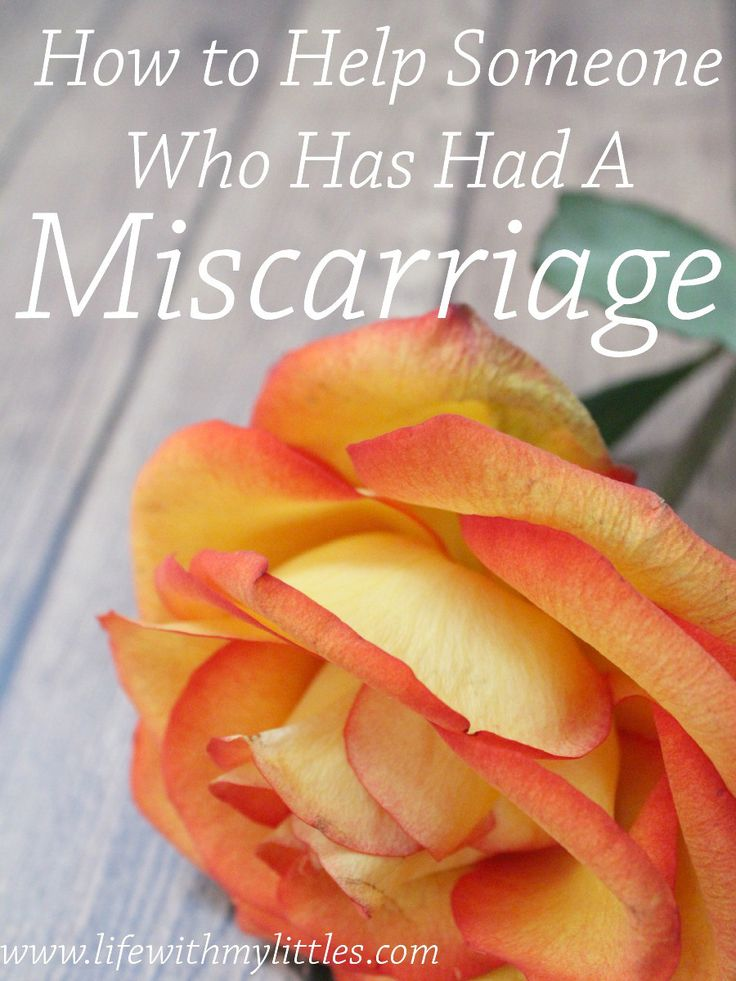 How to help someone who has had a miscarriage. Miscarriages are more common than you think. Here are 7 things to do for someone who has had a miscarriage.