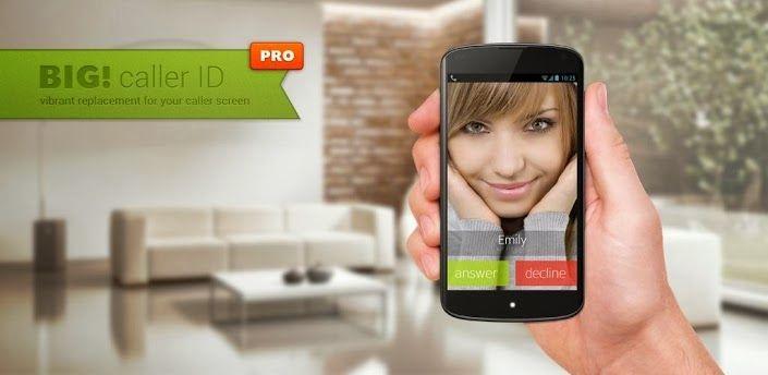 BIG! Full Screen Caller ID Pro,sebuah aplikasi Android dimana anda bisa mengatur foto temanmu sebagai gambar pemanggil dalam mode layar penuh dan tentunya full HD. Anda bisa menghubungkan aplikasi BIG! Full Screen Caller ID Pro ke Facebook dan mengunduh foto teman-temanmu untuk dijadikan gambar pemanggil. Baca selengkapnya...