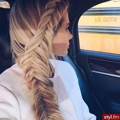 Słodkie fryzury z długich włosów dla brunetek i blondynek - Strona 17