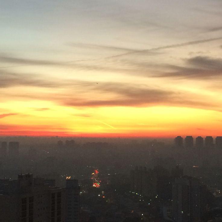 #landscape #sunrise #saopaulo #sp #beautfulview
