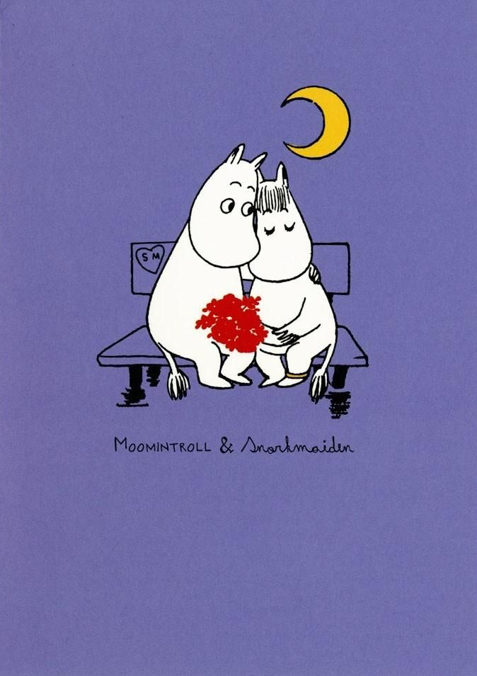 Moomin & Snorkmaiden #moomins