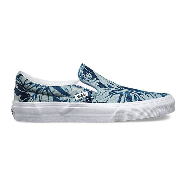 Slip-On ($55) ❤ liked on Polyvore featuring shoes, sneakers, slip on shoes, low top, low profile sneakers, vans footwear and pull on shoes