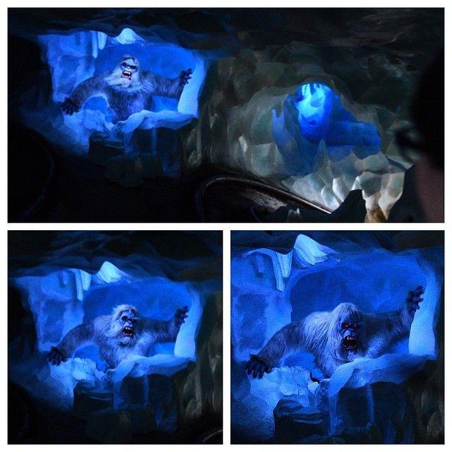 Another sequence of the abominable snowman to show his movement.  #disney #disneyland #disney24 #disneyland60 #disneyparks #diamondcelebration #matterhorn