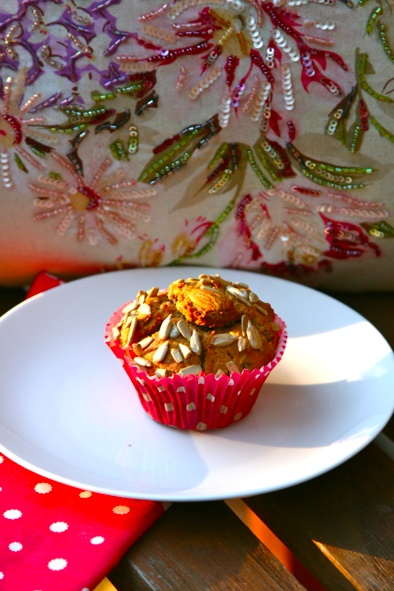 Gluten Free Dairy Free Banana and Cranberry muffins @ The Inconvenient Allergy