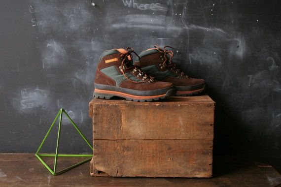 $52.00, Vintage Timberland Hiking Boots For Women From by nowvintage
