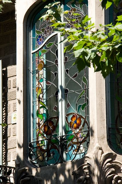 Stained Glass Window | Barcelona