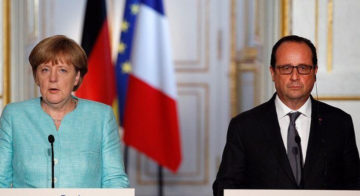 #DÜNYA Merkel ve Hollande: Tek sorumlu Esed: Almanya Başbakanı Angela Merkel ve Fransa Cumhurbaşkanı Francois Hollande, Suriye'deki…