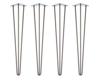 4 x hairpin legs tischbeine alle gr en farben for Cheap hairpin legs