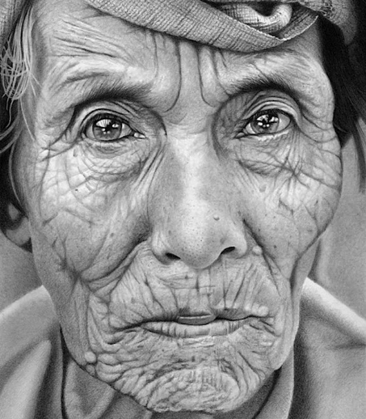 Paul cadden drawings amazing artist a great example of my personal goals hyper realism