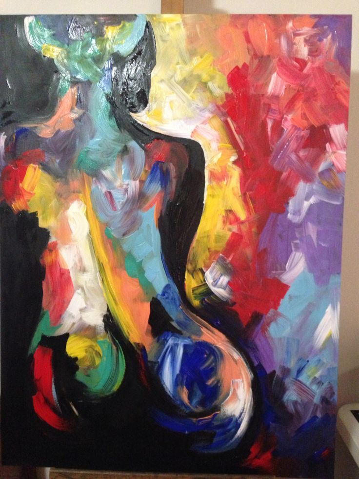 The lady - quietly she contemplates life and all the possibilities that lie before her Acrylic by Nicole