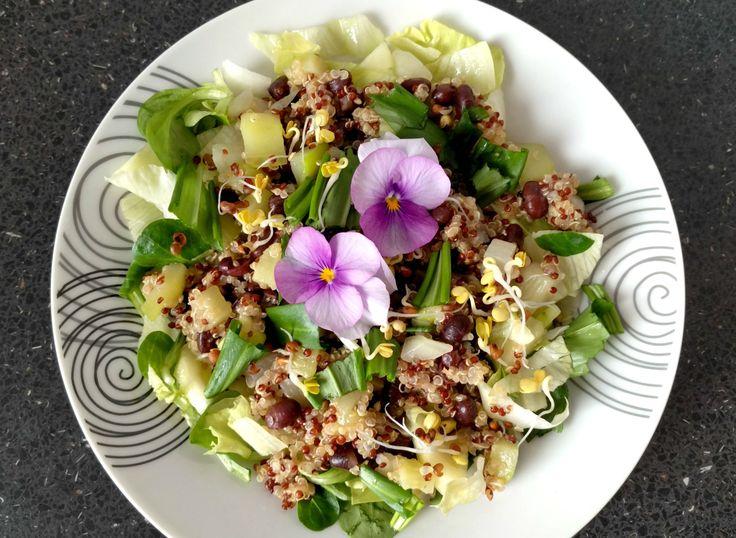 Ľahký quinoa šalát
