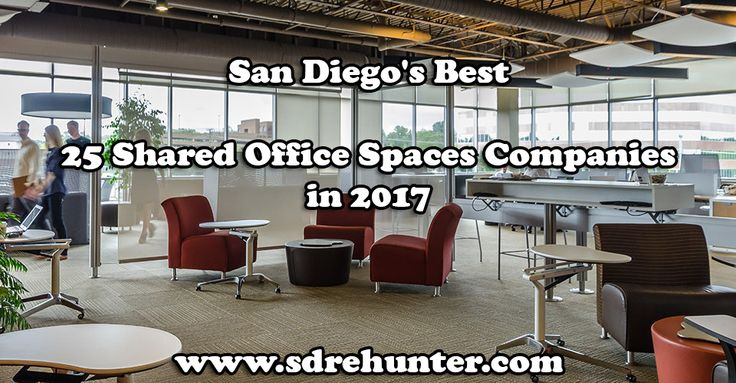✔️ [Blog Post] San Diego's Best 25 Shared Office Spaces Companies in 2017