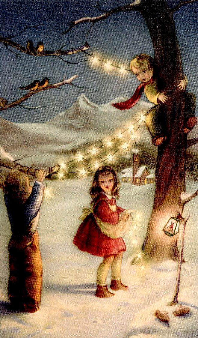 Beautiful old fashion Christmas
