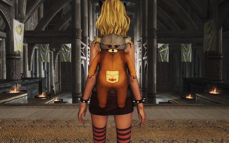 TeddyBear Backpack Retex at Skyrim Nexus - Skyrim mods and ...