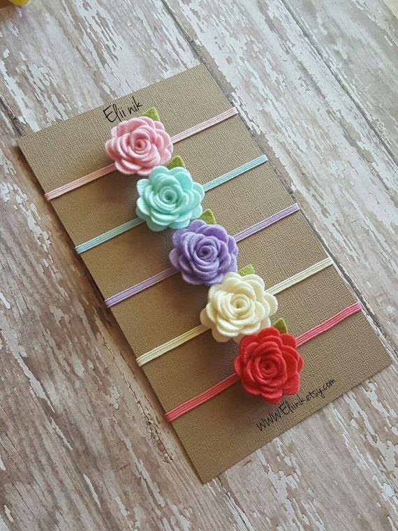 Sistema de venda del bebé flor venda venda de la flor por eliinik