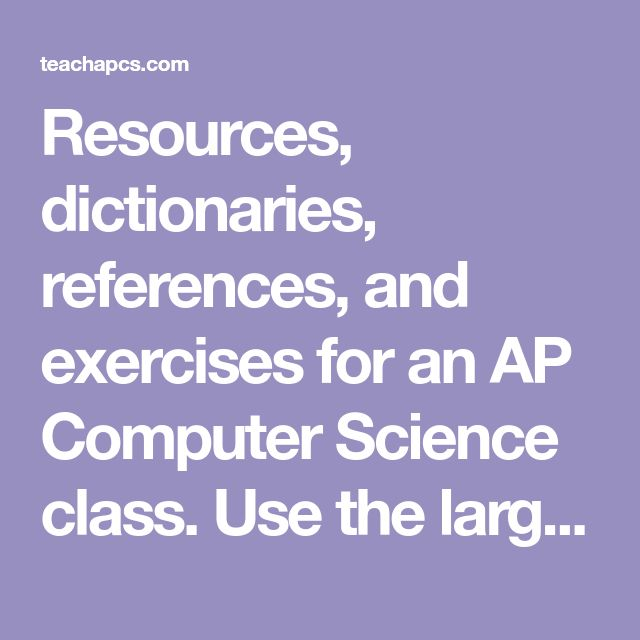 38 best homeschooling science images on pinterest chemistry gym resources dictionaries references and exercises for an ap computer science class use fandeluxe Images